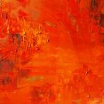 Verglühende Leidenschaften | Öl - 2014 | 60 x 80 cm