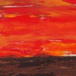 Sonnenaufgang Seidenstrasse | Öl - 2014 | 50 x 70 cm